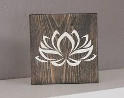 lotus wall etsy
