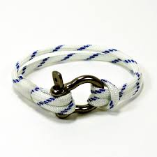nautical knots wedding home decoration and fashion american made paracord shackle bracelet nautical colors mystic knotwork nautical knot