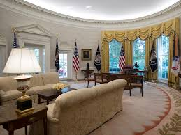 The White Houses Gleaming New Renovations Include Trumpapproved - Interior design white house