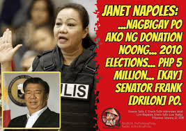 Janet Napoles Memes - napoles php 5 million to drilon in 2010 duterte
