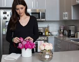 how to make flower arrangements diy at home flower arrangements katherine schwarzenegger
