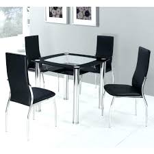 dining table dining table medium size square glass compact