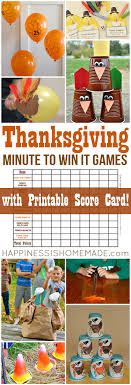 thanksgiving minute to win it happiness is