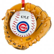 chicago cubs ornaments gifts personalized