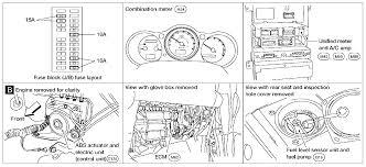 2009 nissan maxima vdc light brake light 2004 maxima constant humming like a pump or a motor running even