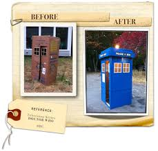 build a doctor how to make doctor who s tardis out of a cardboard box kids