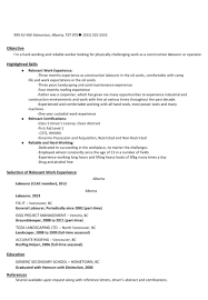 general laborer sample resume how to find a job oil sands guide on this spot generic sample resume