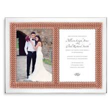 Vera Wang Wedding Invitations Buy Wedding Invitation Frame From Bed Bath U0026 Beyond
