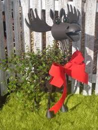 improvements 42 lighted moose decoration