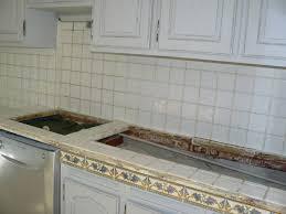 refaire un plan de travail cuisine renover un plan de travail en carrelage peindre refaire cuisine