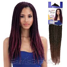 noir pre twisted senegalese twist freetress synthetic hair crochet braids senegalese twist large