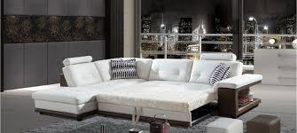 canapé d angle en cuir blanc canapé d angle à prix fous convertible en cuir