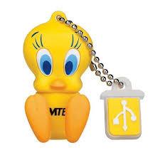 emtec looney tunes 4 gb usb 2 0 flash drive tweety bird