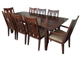 ethan allen horizon dining room set chairish