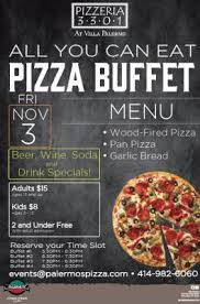 Pizza Buffet Utah by Palermo U0027s Pizza All You Can Eat Pizza Buffet Milwaukee365 Com