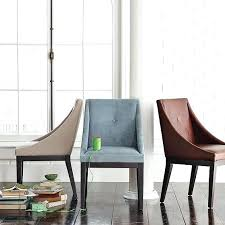 Upholstered Chair Design Ideas West Elm Dining Chair Design Ideas Upholstered Chairs Curved