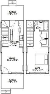 Floor Plan Pdf 16x30 Tiny House 16x30h6g 873 Sq Ft Excellent Floor Plans