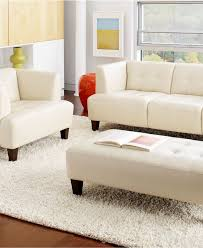 Livingroom Furniture Sets Alessia Leather Sofa Living Room Furniture Sets U0026 Pieces