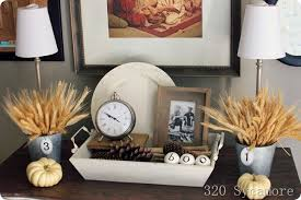 table top decoration ideas decorating for fall autumn decorating ideas 320 sycamore