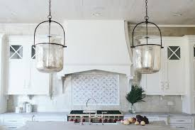 Glass Kitchen Pendant Lights Mercury Glass Smokebell Kitchen Pendant Lights Transitional