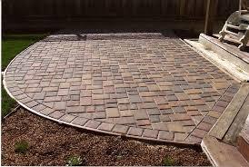 Concrete Patio Bricks Interlocking Patio Pavers Crafts Home