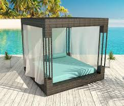 Outdoor Furniture Daybed Daybed Outdoor Furniture Euphoria Outdoor Wicker Daybed Daybed