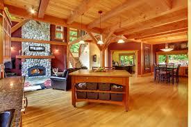 Wooden Interior Interior Wooden Ceiling Fireplace Living Room Design F Wallpaper