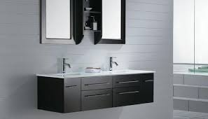 Contemporary Vanity Cabinets Contemporary Bathroom Furniture Cabinets With Double Sink Vanity