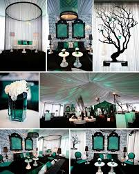 teal wedding decorations black and teal wedding ideas wedding decorations