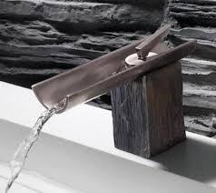 Designer Bathroom Fixtures Bathroom Faucets Marti Bringing Rustic Style Into Modern Bathroom