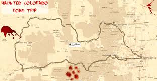 Black Hawk Colorado Map by The Haunted Colorado Road Trip That Will Lead You To The Scariest