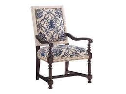 dining arm chairs upholstered kilimanjaro cape verde upholstered arm chair lexington home brands