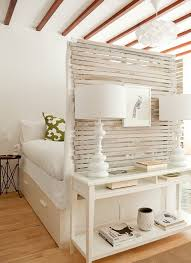Wooden Room Divider Bedroom Small Bedroom Reclaimed Wood Room Divider White Wooden