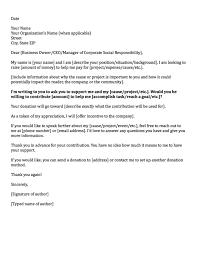 A Sample Resume Donation Cover Letter Resume Cv Cover Letter