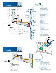 Airport Terminal Floor Plans by Terminal Maps