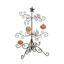 decoration gold metal tabletop tree ornament holder
