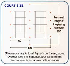 Table Tennis Dimensions Size Of Table Tennis Court Table Designs