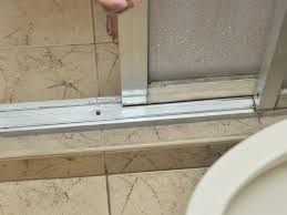 Removing Shower Doors How To Fix Stiff Sliding Shower Doors 3 Steps With Pictures