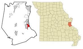 Mizzou Map Crystal City Missouri Wikipedia