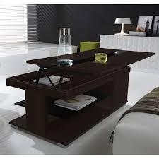 Table Verre Noir Extensible by