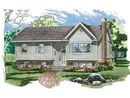 split level ranch house plans elmcrest split level home plan 062d 0232 house plans and more