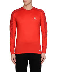 ls online promo code salomon trail runner ls tee sport t shirt red men sportswear buy