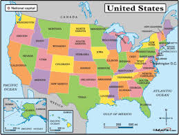 united states map with labels of states and capitals us map with labels of states cdoovision
