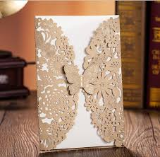 wholesale wedding invitations wholesale 2016 new stock cheap light brown wedding invitations