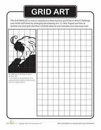 24 best grid drawing images on pinterest art worksheets draw