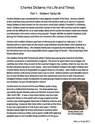 very short biography charles dickens christmas carol charles dickens biography informational text activities