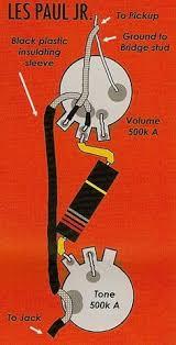 gibson les paul jr wiring diagram google search my guitars