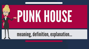 what is punk house what does punk house mean punk house meaning