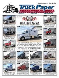 kw service truck truck paper