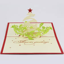 blessing cards qubiclife christmas greeting 3d stereo christmas card ideas